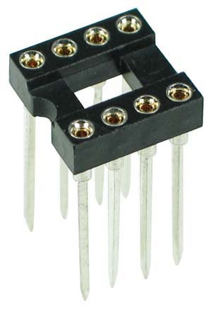 ICS8MTWW - 8 Pin Machine Tooled Wire Wrap IC Socket