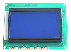 Blue Graphic LCD