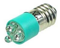 LEDE10GR - E10 12V LED Replacement Lamp - Green