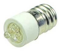 LEDE12WH - E12 12V LED Replacement Lamp - White