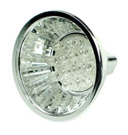 LEDMR16GR - MR16 12V Halogen LED Replacement Lamp Green