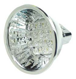 LEDMR16WH - MR16 12V Halogen LED Replacement Lamp - White