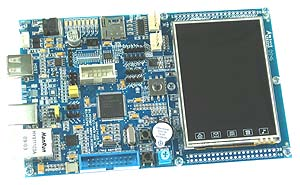 Click for Larger Image - LPC1768 Controller with Touch Screen LCD