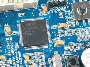 Click for Larger Image - NXP LPC1768 Microcontroller