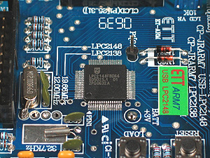 Click for Larger Image - NXP LPC2148 Microcontroller