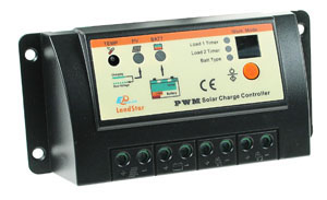 Dual Load 10A Solar Charge Controller for Lighting