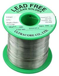 SOLDER_LFREE_0MM5 - 0.5mm Lead Free Solder