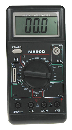 Capacitance Multimeter