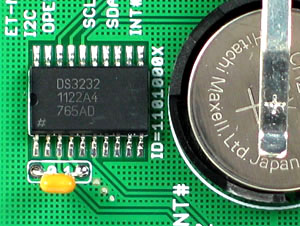 Click for Larger Image - DS3232 Real Time Clock Mini Board