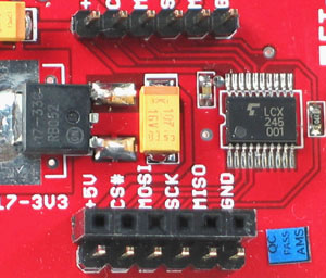 Click for Larger Image - microSD Mini Board