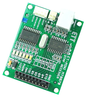 MT8870 DTMF Receiver Mini Board