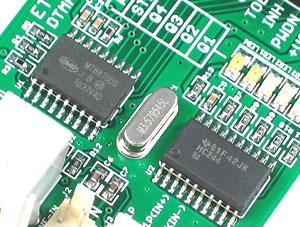 Click for Larger Image - MT8870 DTMF Receiver IC