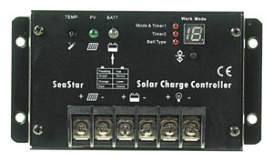 10A Marine Solar Battery Charger for Lighting
