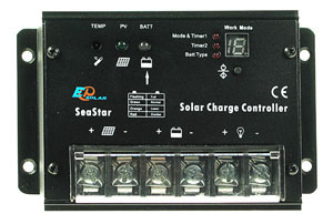 20A Marine Solar Battery Charger for Lighting