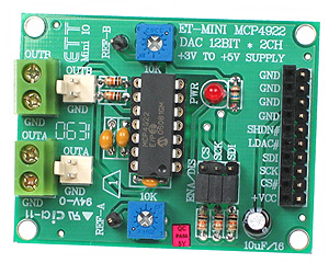 Click for Larger Image - DAC Mini Board