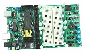 PIC18F4550 Development Board