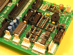 PIC18F458 Training Board