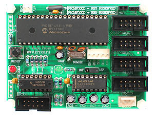 Click for Larger Image - Microchip PIC18F458 Microcontroller