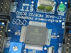 Click for Larger Image - Microchip PIC18F8722 Microcontroller