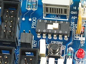 Click for Larger Image - PIC18F8722 Controller Board