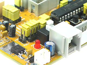 Click for Larger Image - PIC32MX250 Controller Board