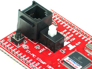 Click for Larger Image - ET-PIC II Stamp Module Programming Connector