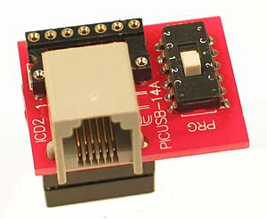 PIC Programmer - 14 Pin Adapter
