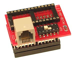 PIC Programmer - 28 Pin Wide Adapter