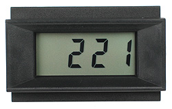 PM128A - LCD Panel Meter - 9V