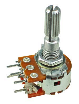 POT2KASWITCH - 2K Logarithmic Taper Potentiometer with Switch