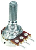 1/2W Anti-Log Taper Potentiometers
