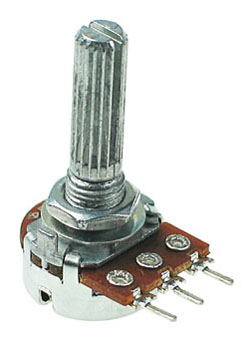 POT10KBDETENT - 10K Linear Taper Potentiometer with Center Detent