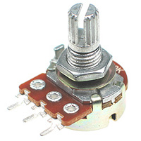 POT250K - 250Kohm Linear Rotary Taper Potentiometer