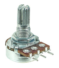 POT10KA - 10Kohm Logarithmic Rotary Taper Potentiometer
