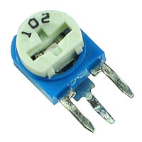 TRIMV10K - 10k 1/2W Miniature Vertical Potentiometer (Trimpot)