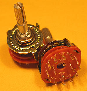 ROTP4P3 - 4 Pole 3 Position Rotary Switch