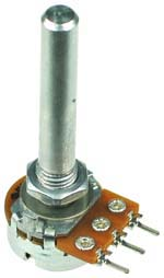 1/2W Logarithmic Rotary Potentiometers with Long Shaft