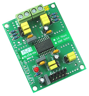 Click for Larger Image - RS422/RS485 Isolation Mini Board