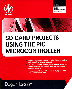 Click for Larger Image - SD Card Projects Using the PIC Microcontroller