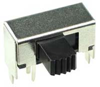 DPDT Horizontal Compact Slide Switch