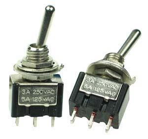 Spdt11 Spdt On On Miniature Toggle Switch Technical Data