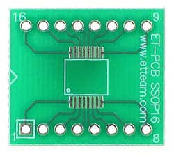 16 pin SSOP Adapter