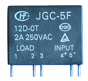 SSR3A24V - SPST 24VDC 2A Solid State Relay