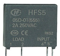 SSR3A24V - SPST 24Vdc Control Voltage 2A Solid State Relay