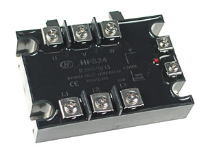 SPST 3 Phase 10A Solid State AC Relay