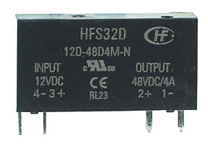 SSR3A48D12 - SPST 0-48Vdc 3A DC/DC Solid State Relay