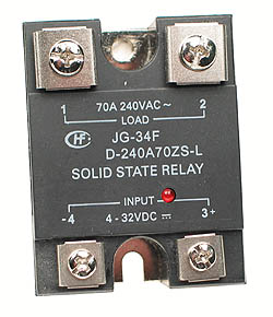 SSR70A - SPST 3-32VDC 70A Solid State Relay