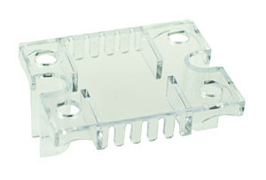 SSR_COVER - Clear Perspex Cover for Solid State Relays