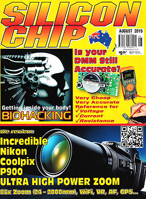 Silicon Chip - August 2015