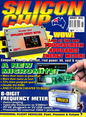 Silicon Chip - August 2016
